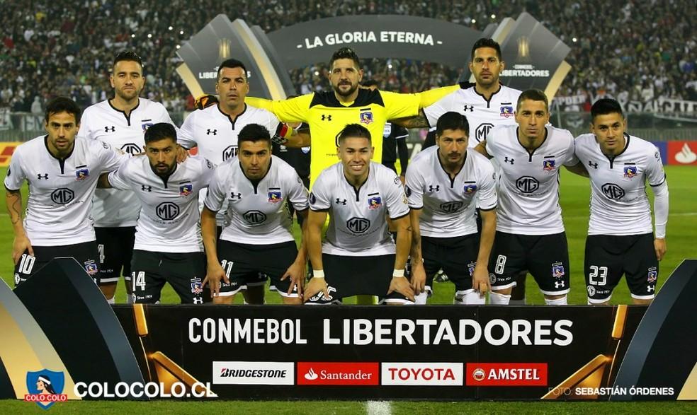 Colo-Colo teve a pior campanha dentre os classificados para as oitavas de final da Libertadores (Foto: Divulgação)