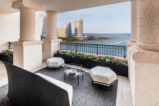 Vista para o oceano é destaque em casa de US$ 20 milhões em Miami  (Foto: Divulgação)