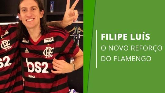 Precisão na defesa, qualidade no passe e consistência: o que Filipe Luís acrescenta ao Flamengo