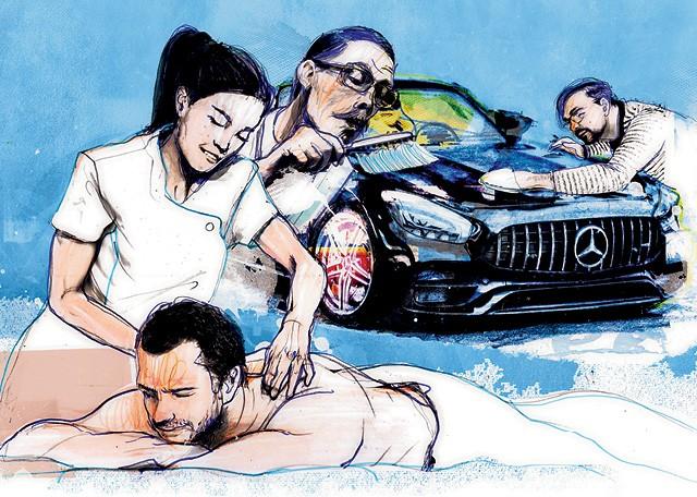 Os mimos dos seguros de carrões  (Foto: Ilustração: Zé Otávio)