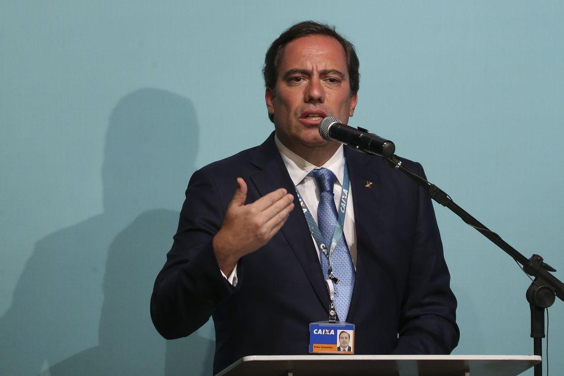 Pedro Guimarães, presidente da Caixa (Foto: Valter Campanato/Agência Brasil)