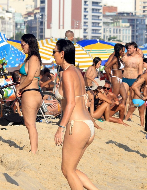 AGN_1446114 - Rio De Janeiro, BRASIL  -  *EXCLUSIVO*  - okPictured: Glenda KozlowskiAgNews 2 JANEIRO 2019 BYLINE MUST READ: Julio Cesar / AgNewsXico Silvatelefone: (21) 98240-2501email: agnews.fotografia@gmail.com (Foto: Julio Cesar / AgNews)