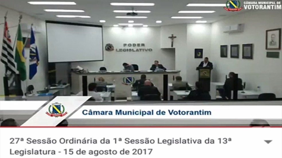 Presidente do Legislativo de Votorantim afirma ter sido vítima do gemidão do
