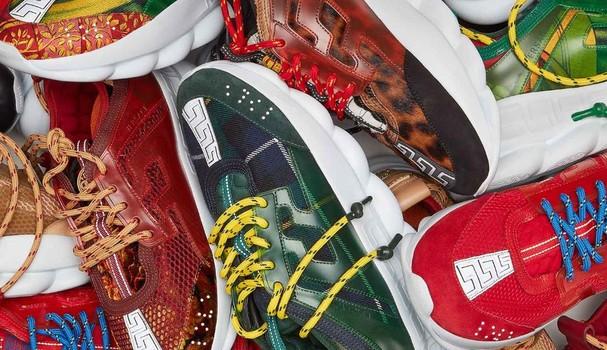 Novo tênis da Versace (Foto: Reprodução Instagram)