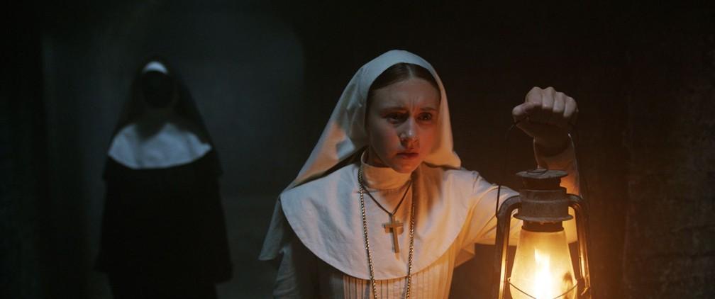 -  Cena do filme   39;A freira  39;  Foto: Divulgação