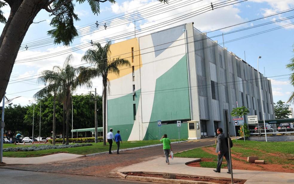 Fachada do prédio da Terracap, em Brasília — Foto: Tony Winston/GDF/Divulgação