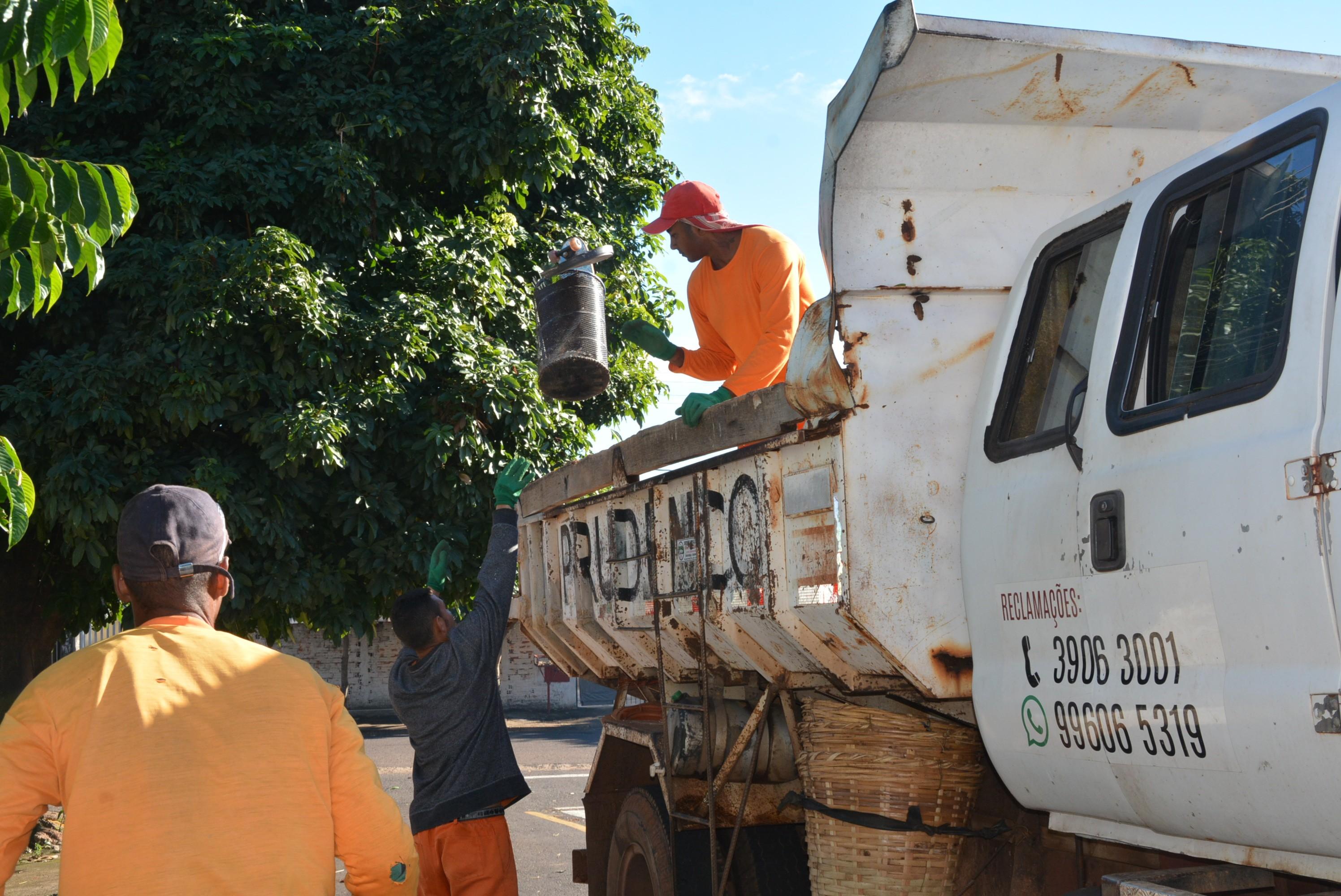 Arrastão contra a dengue recolhe 27 caminhões de lixo em bairros da zona leste de Presidente Prudente - Noticias