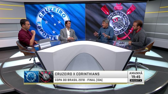 Quem é melhor, Cruzeiro ou Corinthians? Seleção SporTV elege time ideal