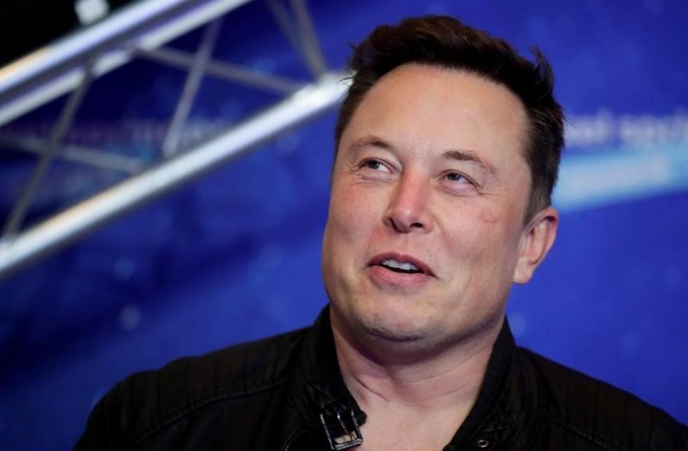 lon Musk, presidente da Tesla e da SpaceX — Foto: Reuters