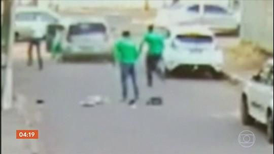 Polícia busca pistas de homem que assaltou e arrastou servidora durante fuga em GO
