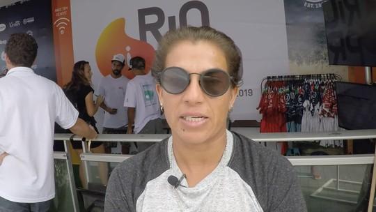 Silvana Lima comenta expectativa para oitavas no Brasil do Mundial de surfe; assista