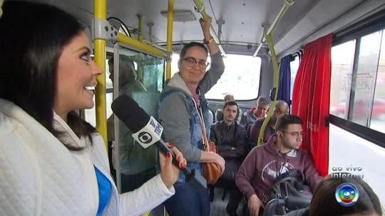 Passageiros que viajam de São Roque a Sorocaba reclamam das condições dos ônibus