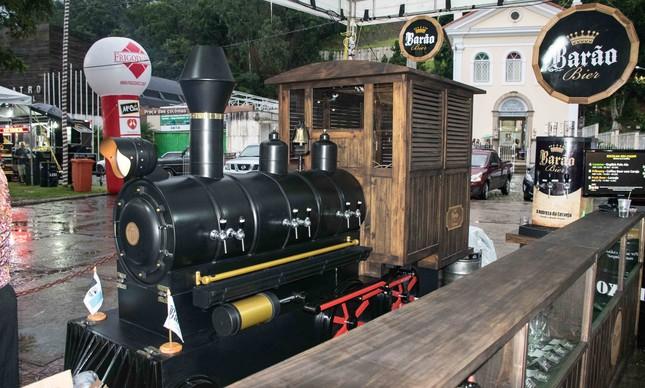 O trem da Barão Bier