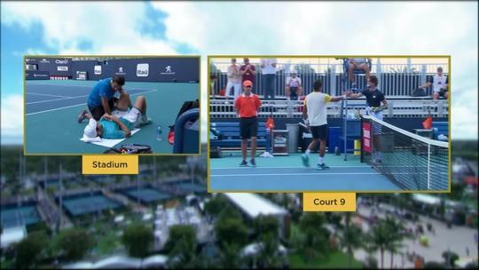 Thiago Monteiro vence, garante vaga na chave principal em Miami e entra na rota de Djokovic