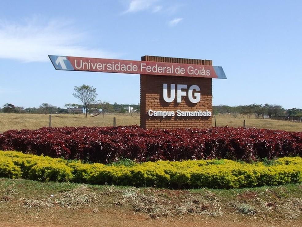 -  Campus Samambaia da Universidade Federal de Goiás em Goiânia  Foto: Divulgação/UFG