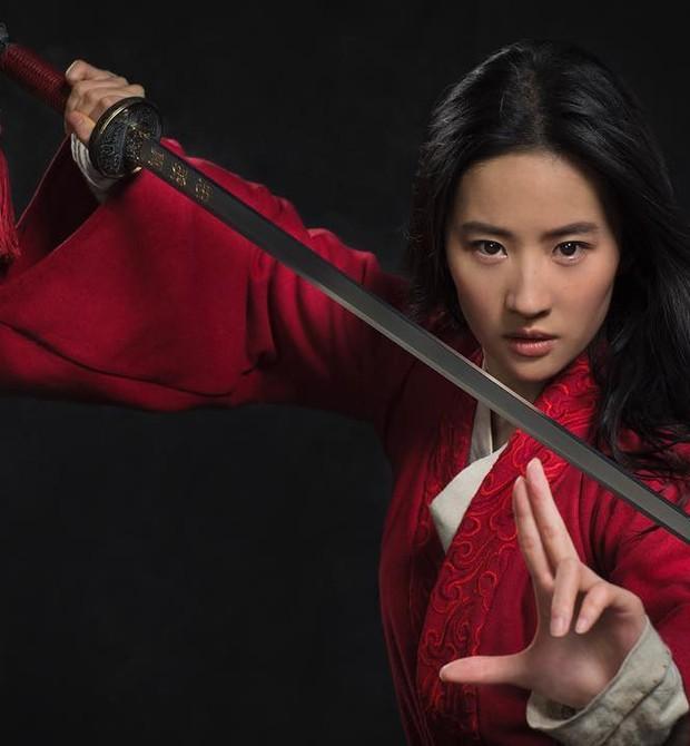 Liu Yifei como Mulan (Foto: Reprodução / Instagram)