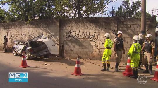 Homem morre em acidente após carro perder o controle no Anel Rodoviário de BH