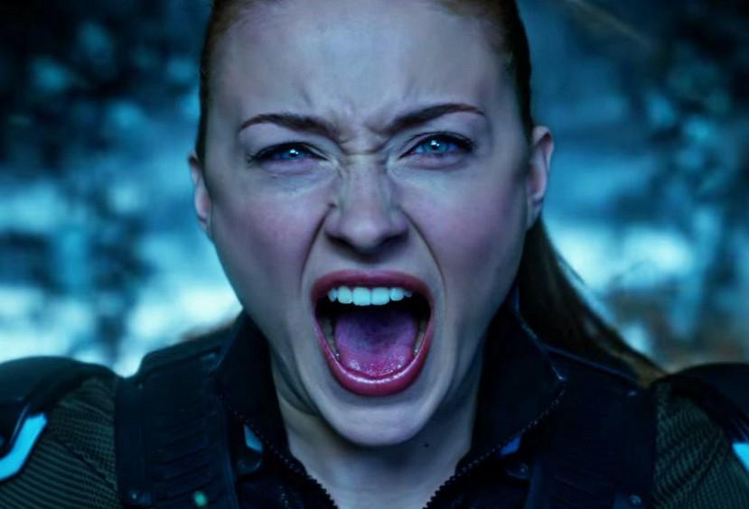 A atriz Sophie Turner como a mutante Jean Grey em cena de X-Men: Fênix Negra (Foto: Reprodução)