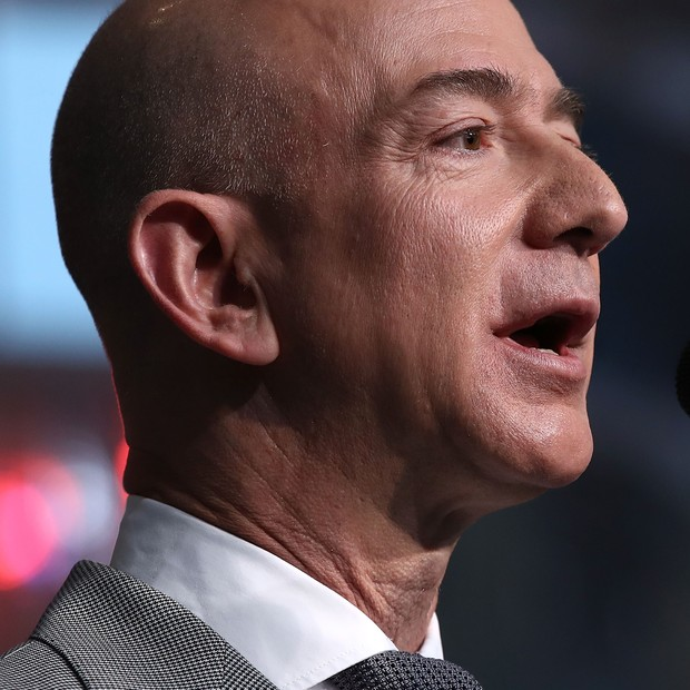 Jeff Bezos, da Amazon (Foto: Getty Images)