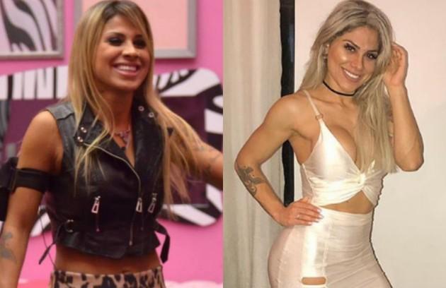 Vanessa Mesquita foi a ganhadora do 'BBB' 14 e ainda não usou o dinheiro do prêmio. Ela cursa o segundo ano da faculdade de Medicina Veterinária, abriu uma clínica veterinária e também faz trabalhos como modelo fitness (Foto: TV Globo e reprodução)