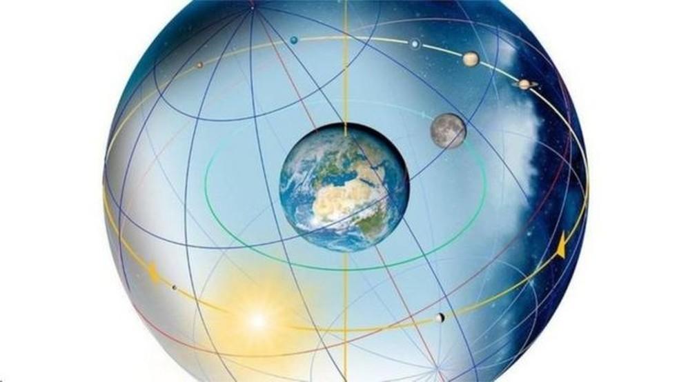 A inclinação do planeta depende em grande parte da forma como sua massa é distribuída — Foto: SPL