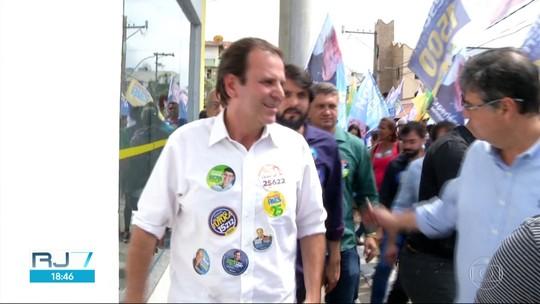 Eduardo Paes quer aumentar número de policiais para reforçar a segurança no interior