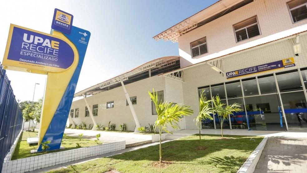 UPAE Arruda, no Recife, é uma das unidades de saúde gerenciadas pelo HCP que tem vagas abertas para cadastro de reserva — Foto: Divulgação/HCP