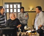 Ivan Zettel dirige atores em Plano alto | Munir Chatack/Record