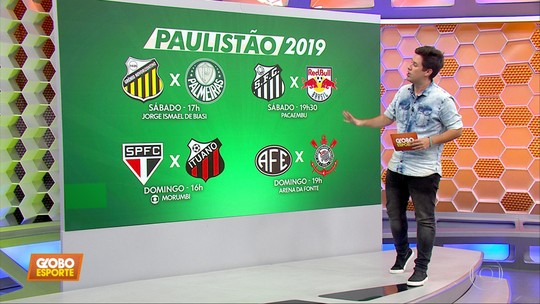 FPF define datas e locais das quartas de final do Campeonato Paulista