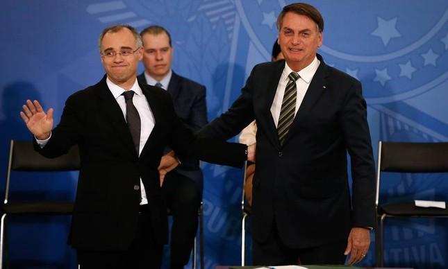Presidente Jair Bolsonaro André Mendonça