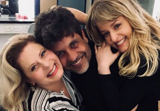 Vera Fischer, Pedro Vasconcelos e Luciana Vendramini (Foto: Reprodução/Instagram)