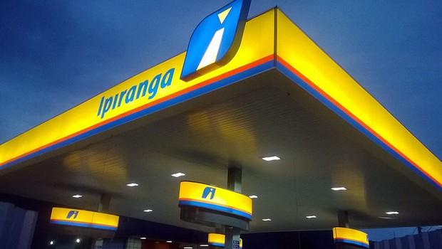 Posto Ipiranga , que pertence à Ultrapar (Foto: Divulgação)