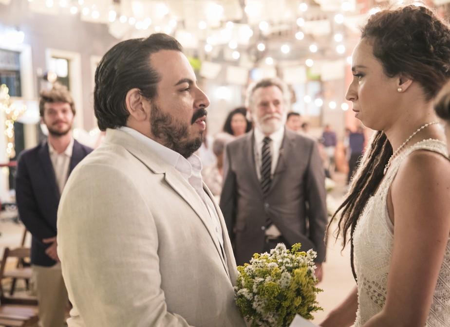 Gorete desiste de casar com Clóvis após vexame
