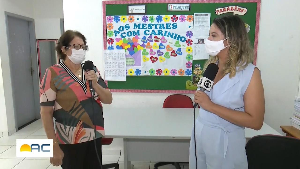 Veja como estão ocorrendo as aulas na rede pública do estado com quase um ano de pandemia