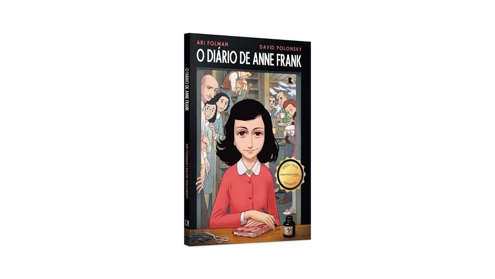 Esta foi a única edição em histórias em quadrinhos autorizada pela fundação Anne Frank (Foto: Divulgação/Amazon)