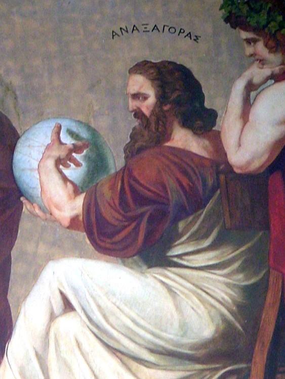 Quem foi Anaxágoras, exilado por dizer que a Lua era uma rocha, não um deus. Acima: representação de Anaxágoras feita em 1888 por Eduard Lebiedzki a partir do design de Karrl Rahl (Foto: Wikimedia Commons)