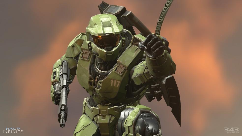 Halo Infinite já com os gráficos do Xbox Series X — Foto: Divulgação/Microsoft
