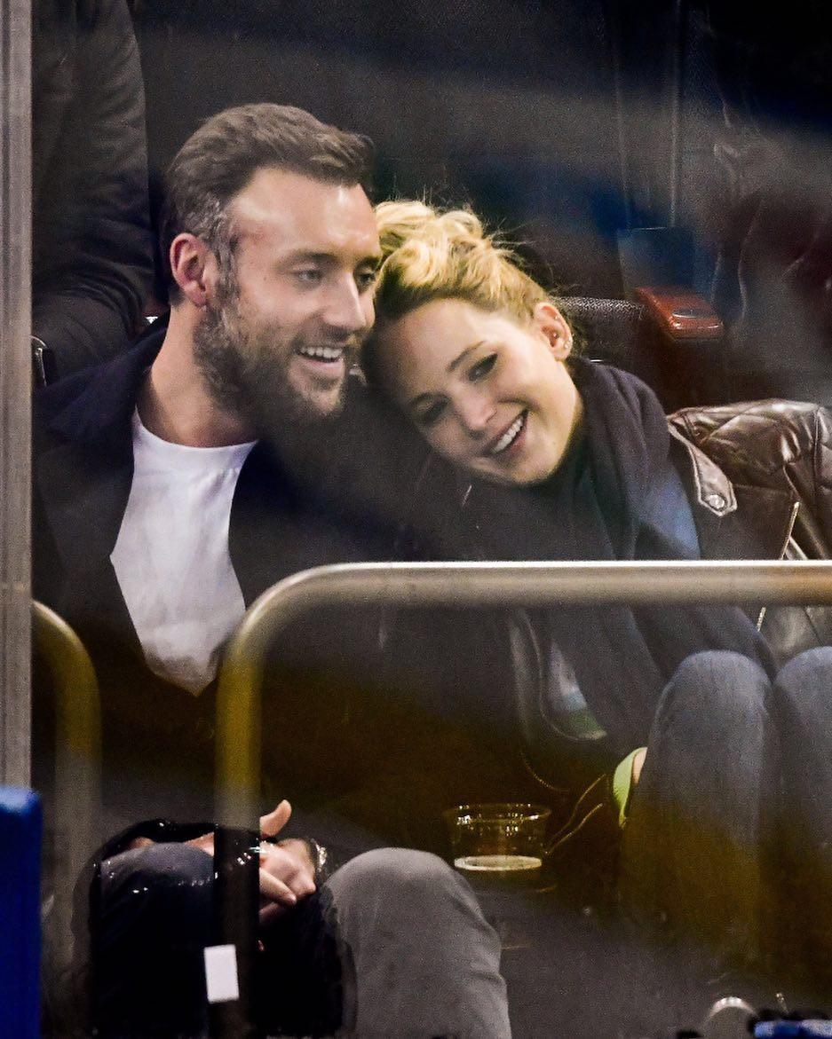 Cooke Maroney e Jennifer Lawrence (Foto: Reprodução Instagram)