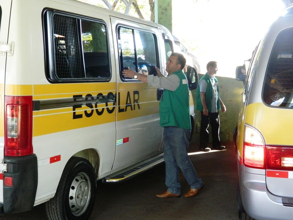 Serão vistoriados transportes do tipo interbairro, escolar, táxi e mototáxi cadastrados na prefeitura (Foto: Divulgação/Urbes)