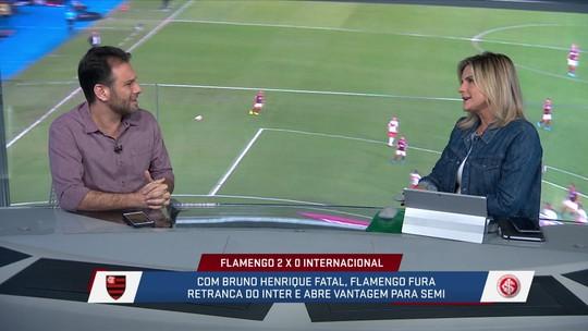 André Loffredo critica a decisão de Jorge Jesus de confundir os adversários e colocar o Gabigol na partida contra o Internacional