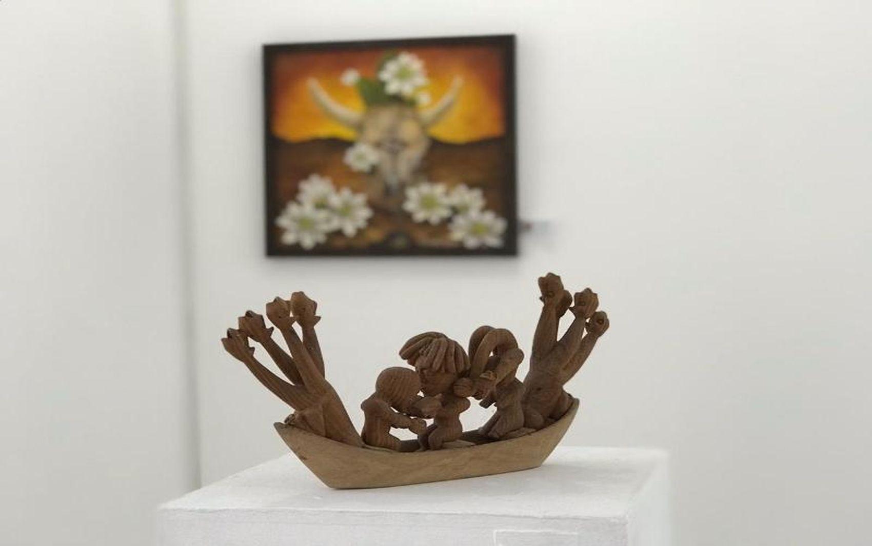 Galeria de Artes Álvaro Santos recebe exposição '5 artistas, 5 estilos'