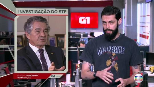 G1 em 1 Minuto: Marco Aurélio chama de 'mordaça' decisão de Moraes de tirar texto de site