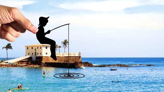 Publicitário desenvolve trabalho de arte que ressignifica paisagens de Salvador