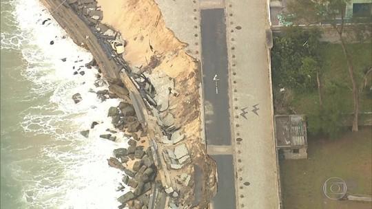 Obras de contenção na Praia da Macumba começam nesta terça, diz secretário