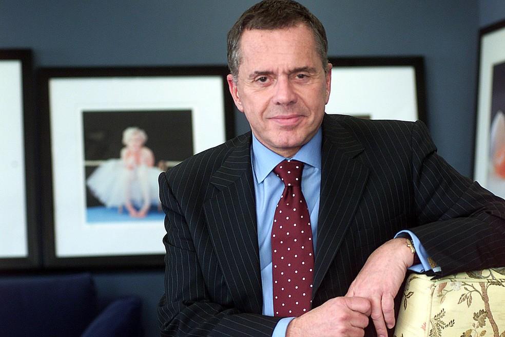 Edemar Cid Ferreira, dono do banco de Santos, em foto de 2004 — Foto: Evelson de Freitas/Estadão Conteúdo/Arquivo