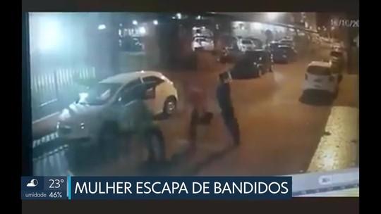 Mulher é atacada por seis bandidos no Guará e consegue escapar