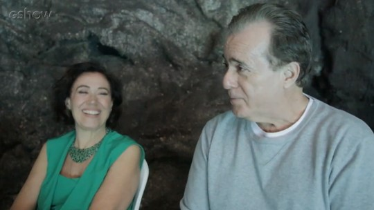 Lilia Cabral e Tony Ramos comentam sequência do ataque de Valentina a Olavo, em 'O Sétimo Guardião'