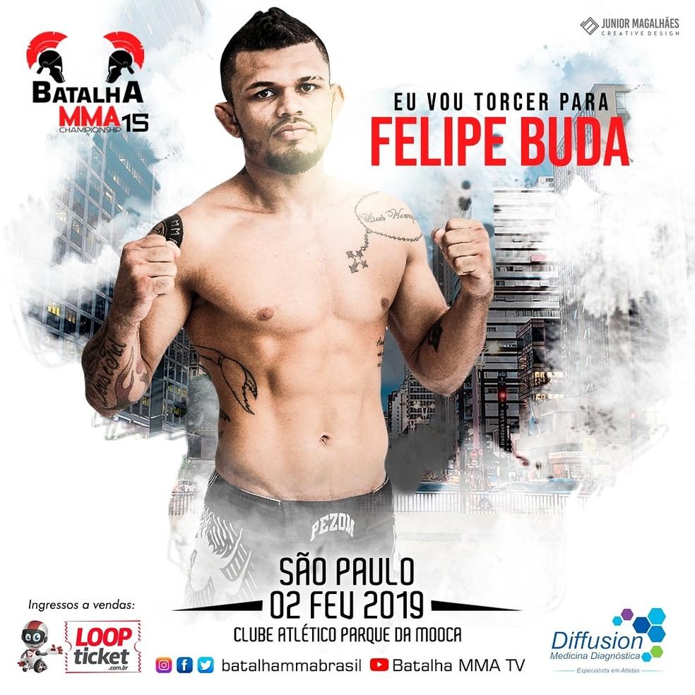 Cartaz oficial do evento em São Paulo — Foto: Divulgação