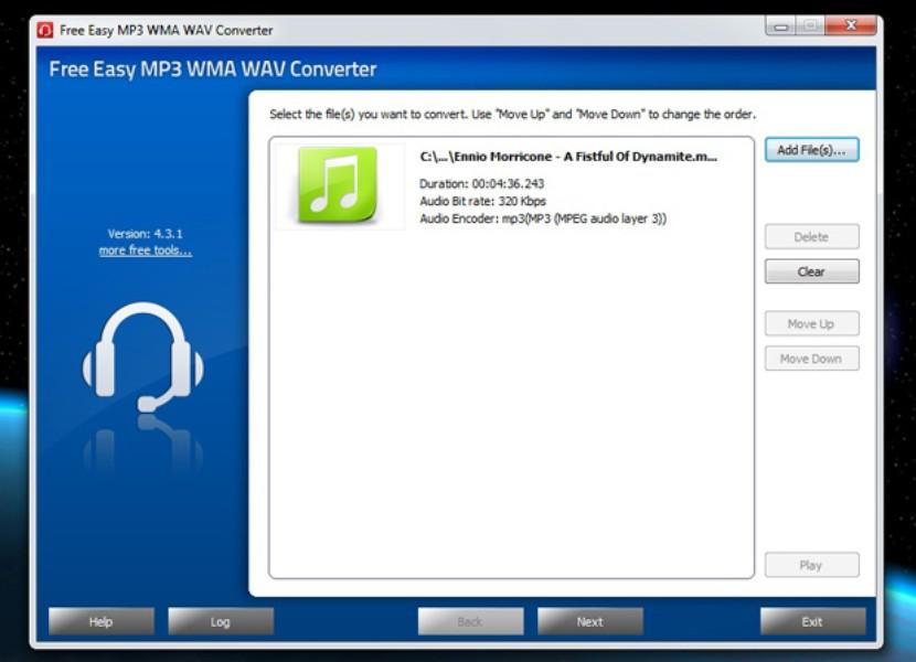 Free Easy MP3 WMA WAV Converter | Download | TechTudo