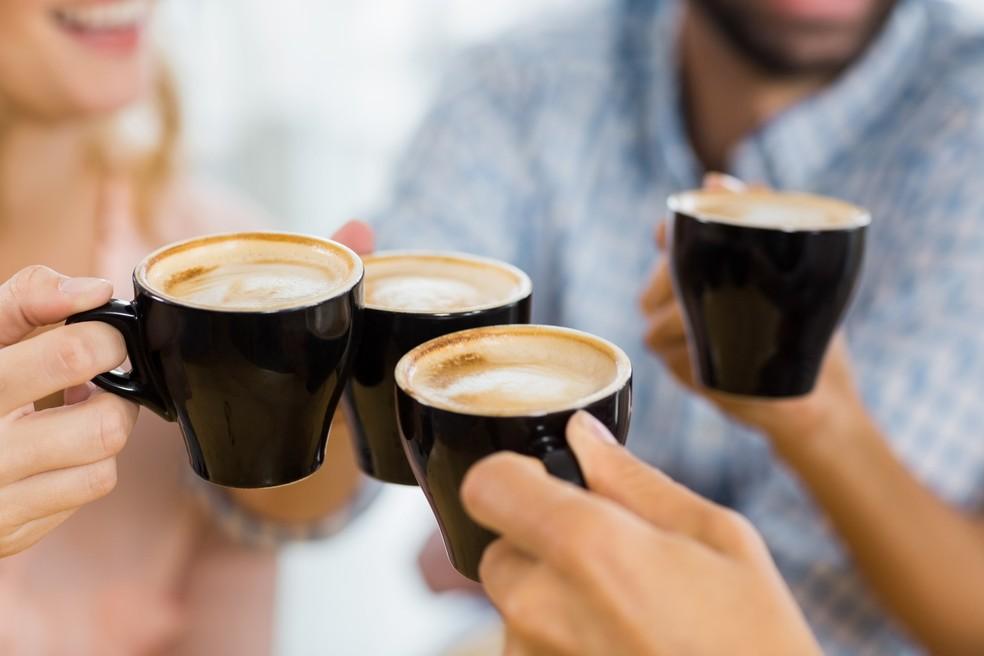 A forma como o café é preparado incide diretamente na quantidade de cafeína presente em cada xícara — Foto: iStock Getty Images